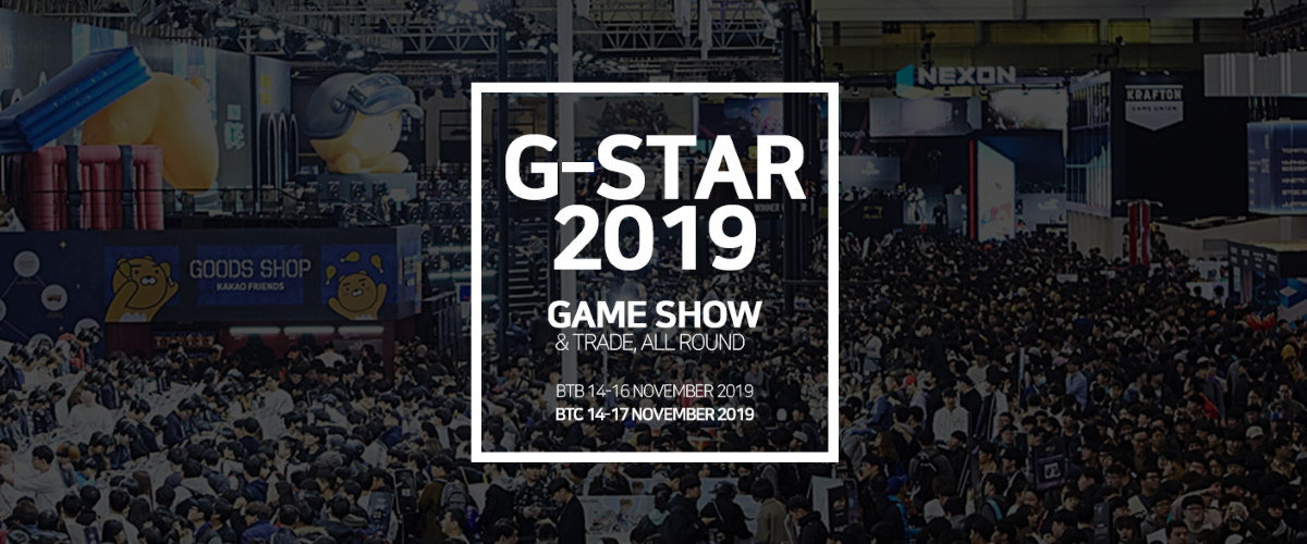 G-STAR Global Game Exhibition 2019