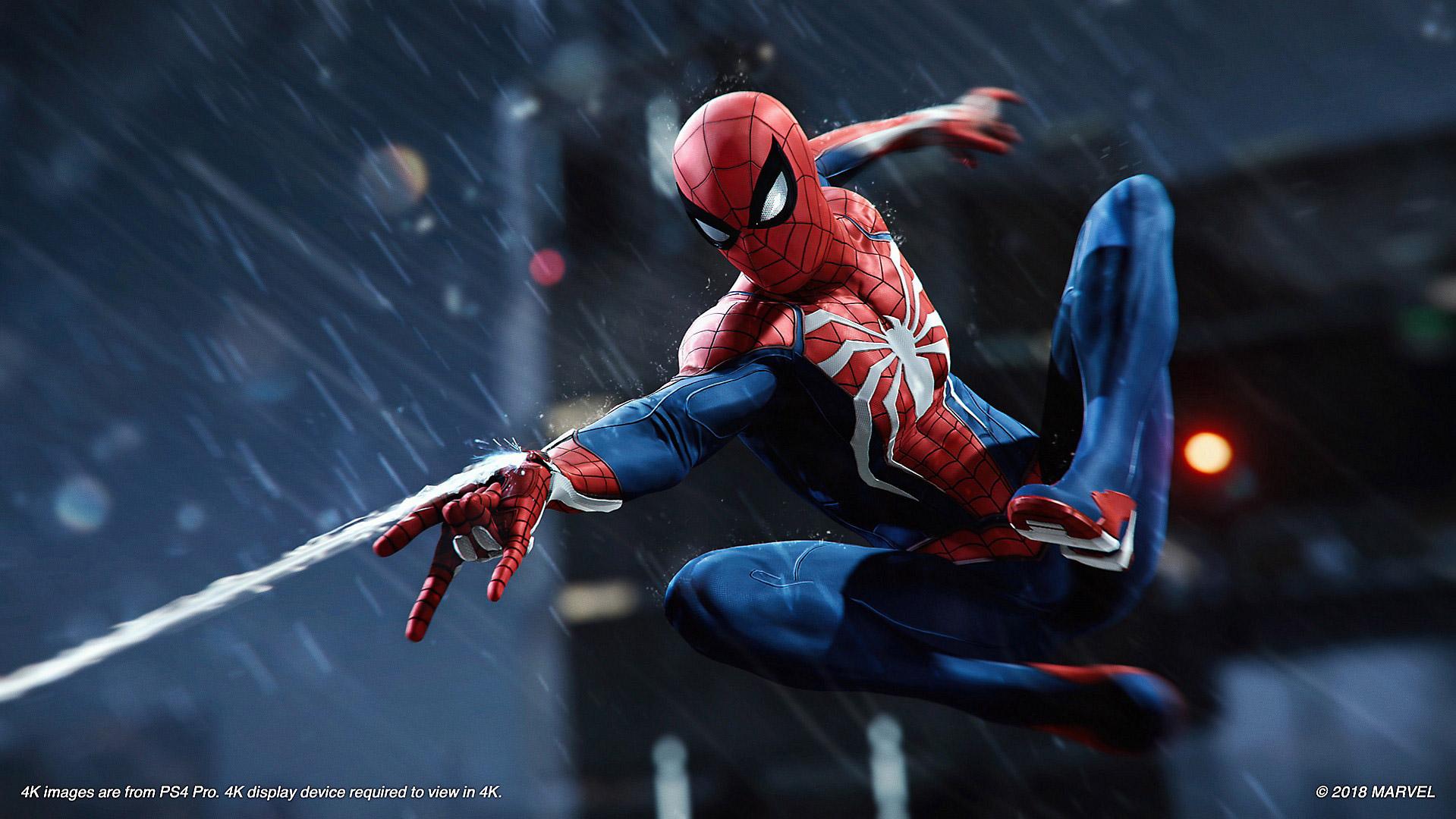 marvels spider-man ps4 pro