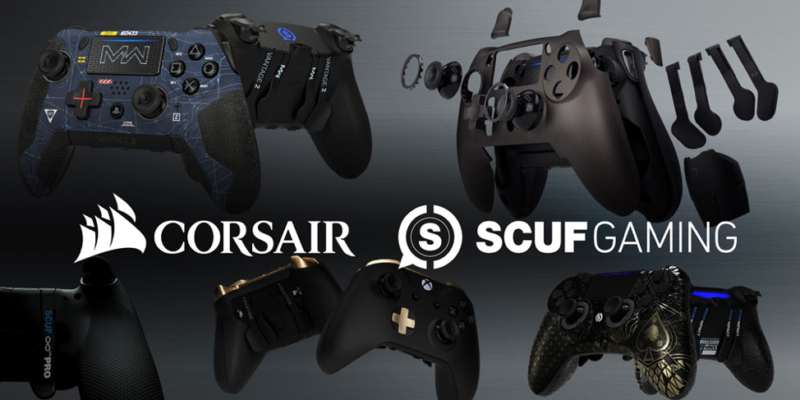 CORSAIR is acquiring SCUF Gaming