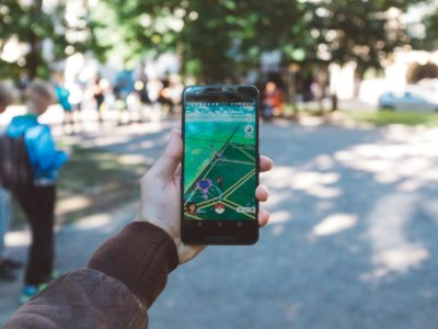 This image shows a mobile game being played, which demonstrates the topic of mobile revenue.