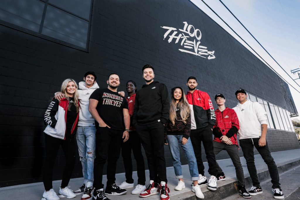100 Thieves headquarters in Los Angeles