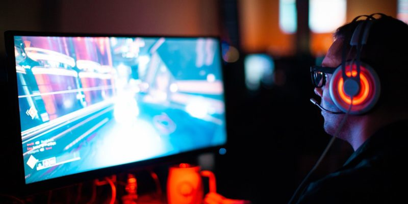 The purpose of this image is to showcase an esports player, which is a topic in the article.