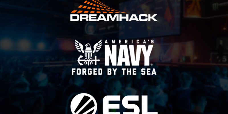 U.S. Navy Partners With DreamHack and ESL