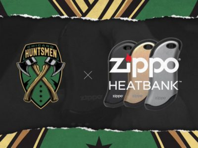 zippo partners with NRG's Chicago Huntsmen in the CDL
