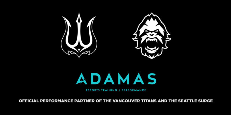 Vancouver Titans and Seattle Surge Partner with Adamas Training