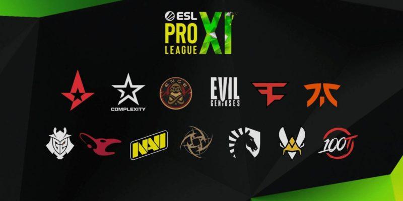 ESL Partners With Top CS:GO Teams for ESL Pro League
